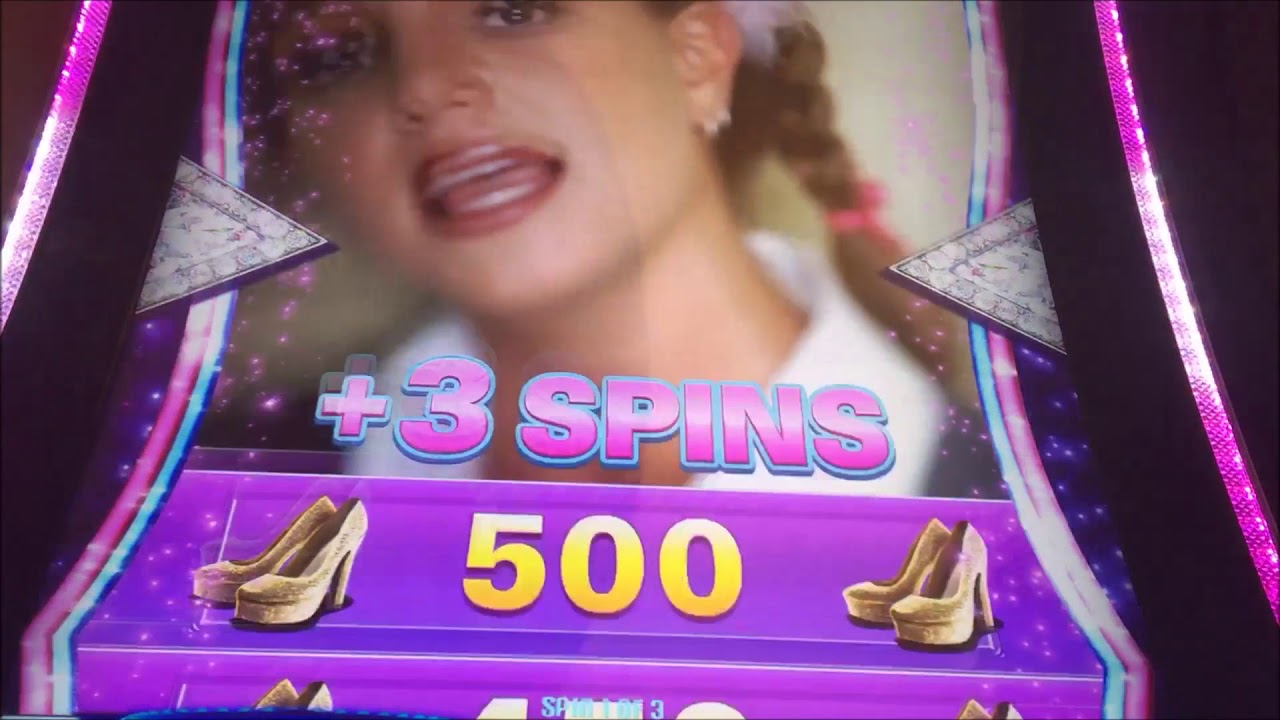 Michael Jackson vs. Britney Spears Slot Machine Bonuses ...