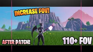 INCREASE FOV in FORTNITE (After Patch!) NEW Ultrawide STRETCHED RESOLUTION!