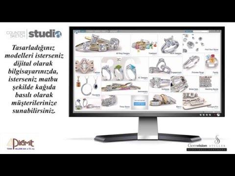 Counter Sketch Studio 5 - Piramit Teknik Malzeme