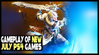 Gameplay of 13 NEW PS4 Games Coming JULY 2019 (Upcoming PS4 Games 2019)