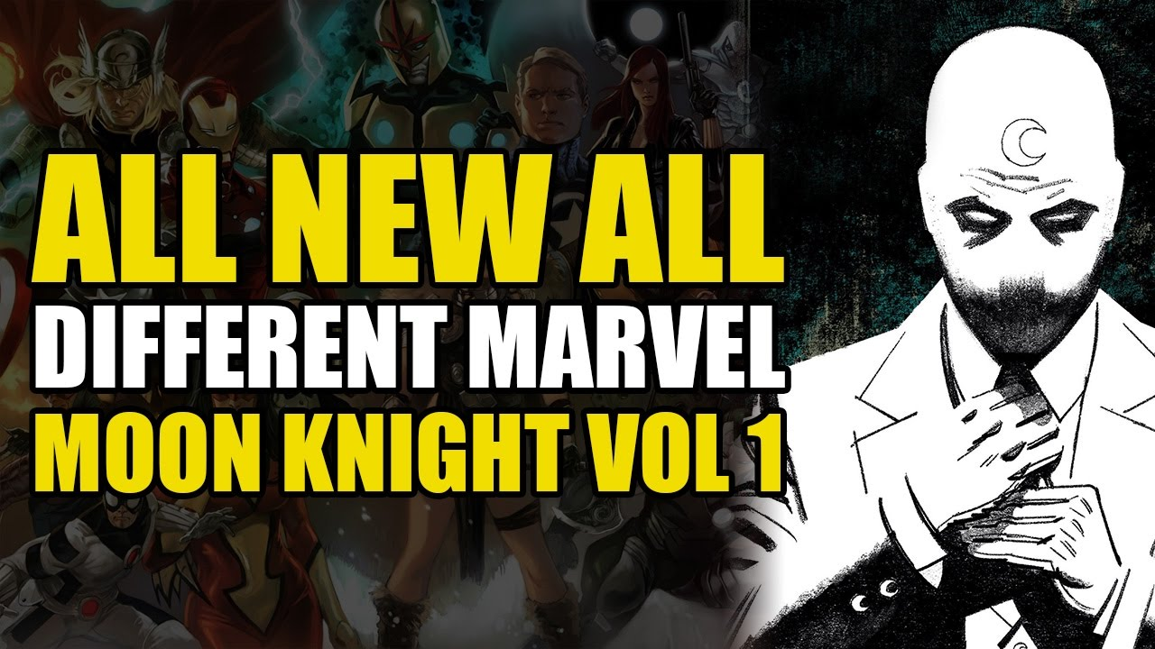 Batman Different Moon All all 1 He's Not Knight New Marvel's Vol xqfYxE01
