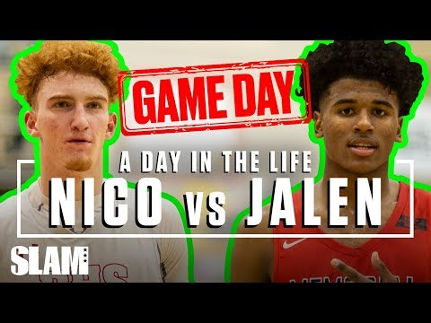Nico Mannion vs Jalen Green: The BIGGEST Gameday of the YEAR 🏆 | SLAM Day in the Life