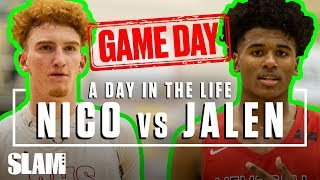nico-mannion-vs-jalen-green-the-biggest-gameday-of-the-year-slam-day-in-the-life