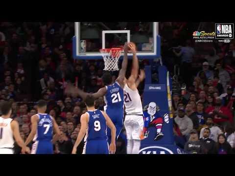 Joel Embiid   Kia Defensive Player of the Year Nominee   2018 NBA Awards