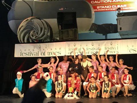 LEGGZ LTD Dance performs at the Festival Of Trees Friday November 24, 2017