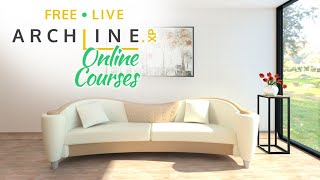 Upholstered Furniture with ARCHLine.XP - Intermediate Course 8