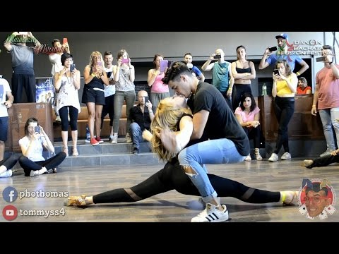 Maurizio y Miriana [Bachata Sensual] @ Dancin Fusion 2016