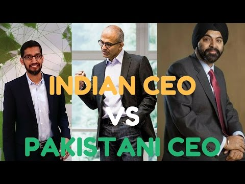 Indian CEO vs Pakistani CEO