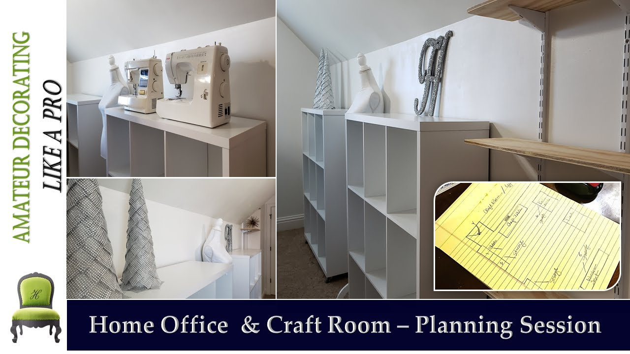 Home Office & Craft Room Ideas Series - Part 1