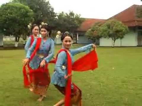 Tari Candhik Ayu Putri Tari Lenggang Kangkung [ Kendal Jawa Tengah ]