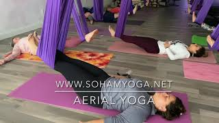 Aerial Fitness Beginner class I Aerial Yoga Fitness I Yoga with Yani