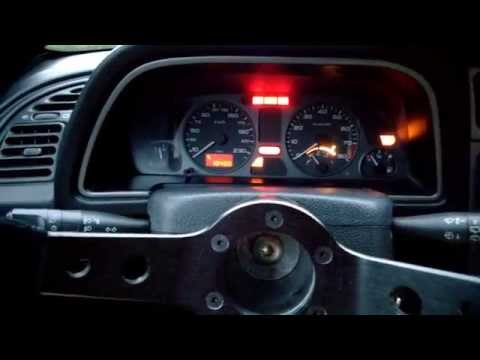 Peugeot 306 S16 bv6 / GTi-6 startup and acceleration