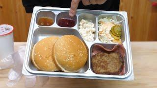 제대 17년만에 밀리터리 버거 군대리아 먹어봤습니다.