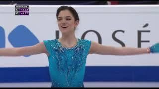 Короткая программа российской фигуристки Евгении Медведевой на чемпионате мира 2017 года в Хельсинки