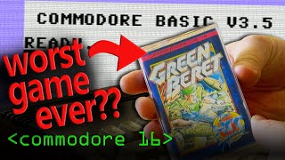 Commodore 16 & The Worst Video Game? - Computerphile