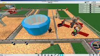Plane ride , Gravitron a Twister / Roblox Theme park tycoon 2 S1 E3