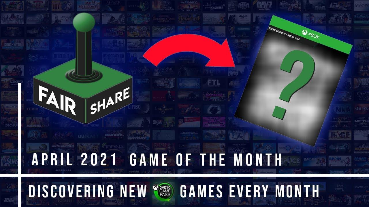 April 2021 FairShare Game Announcement