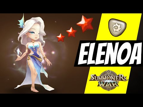 Elenoa. Decrease YOUR Cooldown. Light Polar Queen In Summoners War G3 RTA