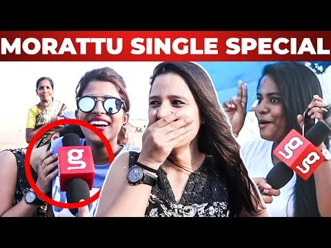 Morattu SINGLE Vs 3 Times BREAKUP - Chennai Girls on Love Life & Valentine's Day Mp3