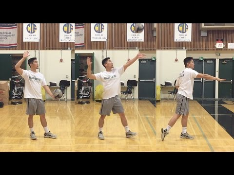 FLOAT Serve - How to SERVE a Volleyball Tutorial (part 1/3)