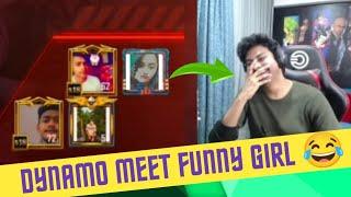 DYNAMO MEET FUNNY GIRL IN TDM