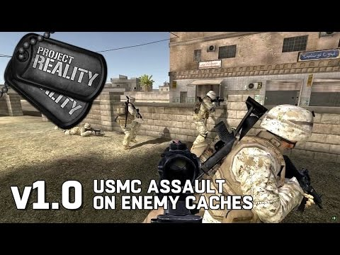 USMC Assault on Enemy Caches  - Project Reality v1.0