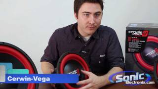 Cerwin-Vega Vega Car Subwoofer Product Line Review