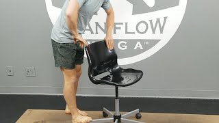 Office Yoga - Do Yoga At Your Desk!!!