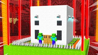 Never Break into YOUTUBER Impossible Houses! - Minecraft