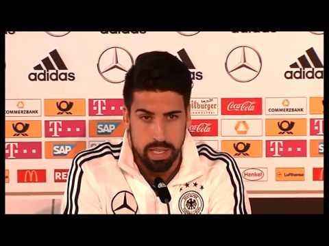 DFB Pressekonferenz: Thomas Schneider & Sami Khedira - 28/03/2016
