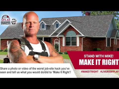 Atlas Roofing Contractors, Let's Make It Right With Mike Holmes