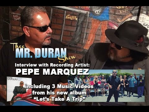 Interview with recording artist Pepe Marquez
