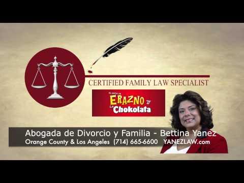 Abogado De Divorcio En Orange County Sobre Manutención De Niño