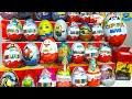 30 Киндер Сюрпризов,Unboxing Kinder Surprise Маша и Медведь,Фиксики,Тачки,Гадкий Я 3 Kinder Maxi