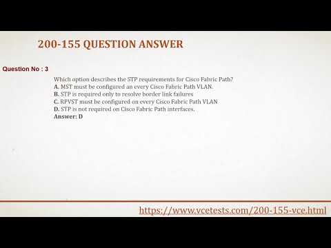 How to pass cisco 200-155 exam with 200-155 VCE Questions Answers?