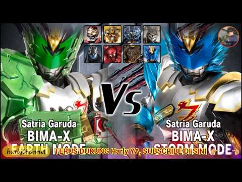 Bima X Earth MODE -HYPER- VS BOS Storm Mode
