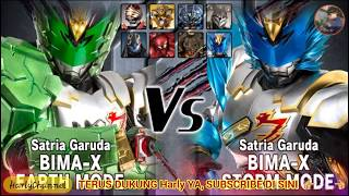 Bima X Earth MODE -HYPER- VS BOS Storm Mode - Satria Heroes Game Indonesia Bagian.14.