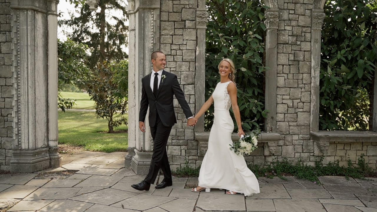 Hurstbourne Country Club Wedding   Louisville, Ky Wedding   High School Sweethearts Getting Married