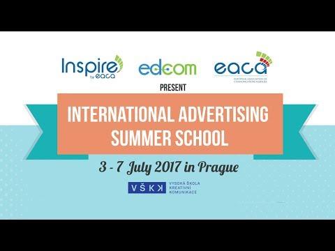 EACA Advertising Summer School 2017 Prague - A VLog by Mark Freese