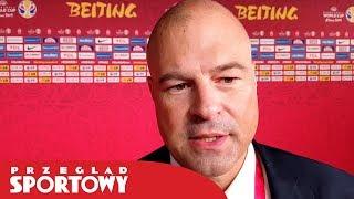 Trener Mike Taylor po meczu Polska - Wenezuela 80:69