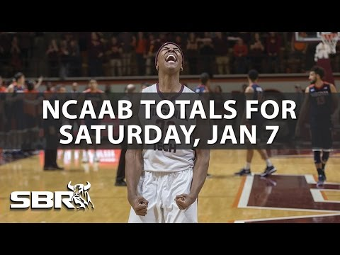 ncaa-basketball-pick-i-totals-for-saturday,-january-7th