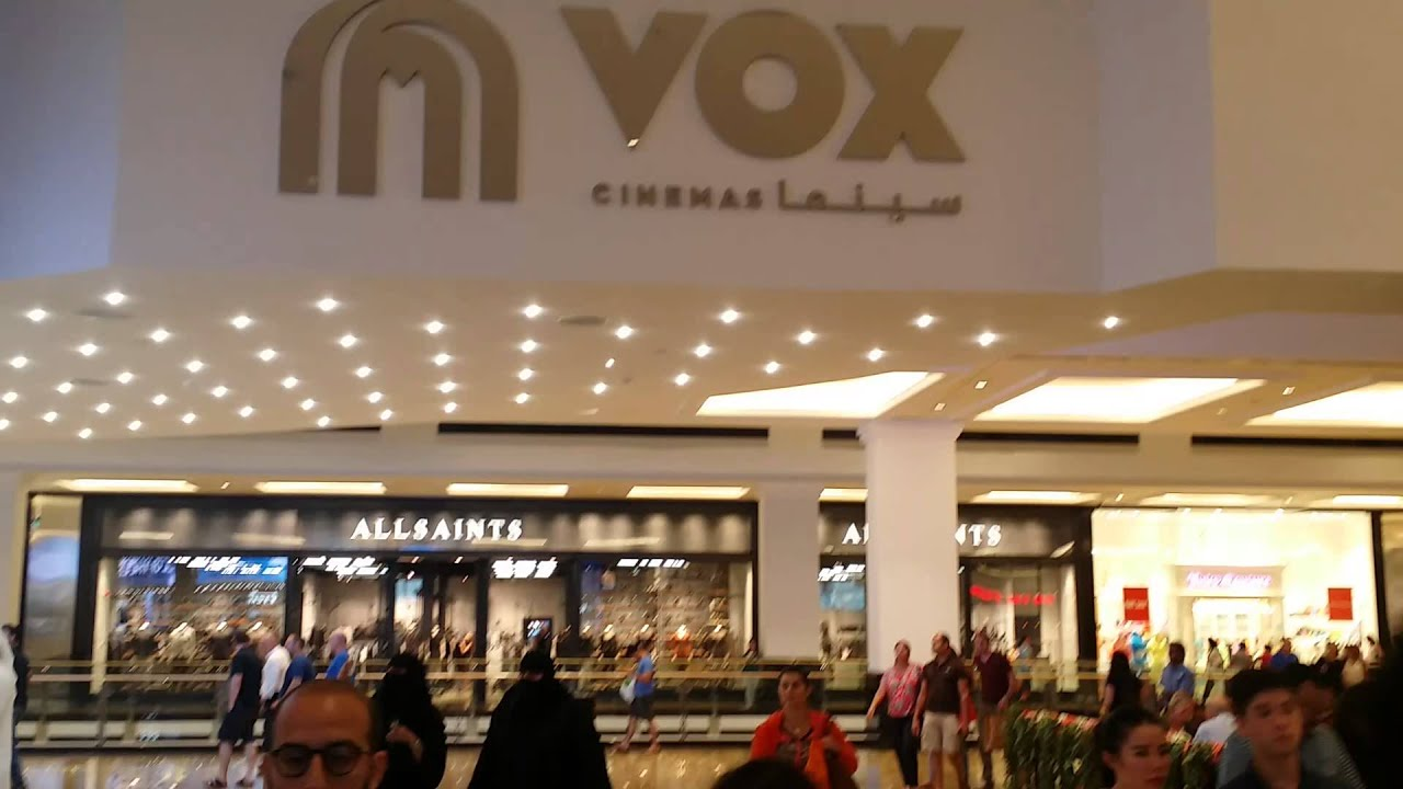 Latest VOX CINEMA at Mall of the Emirates