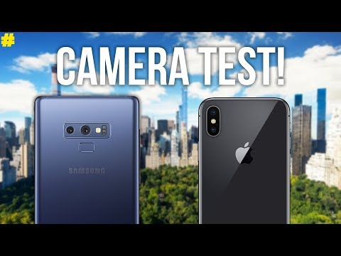 Samsung Galaxy Note 9 vs Apple iPhone X: Camera Comparison!
