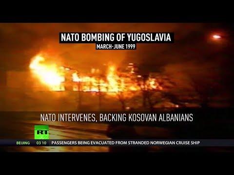 20th anniversary of  NATO's 'humanitarian' bombing campaign in Yugoslavia