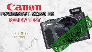 Canon PowerShot SX620 HS Review Test | CEO Mike Edition