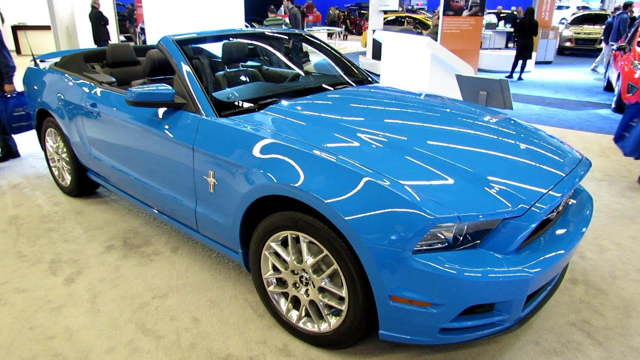 2013 ford mustang v6 convertible exterior and interior walkaround 2013 montreal auto show youtube