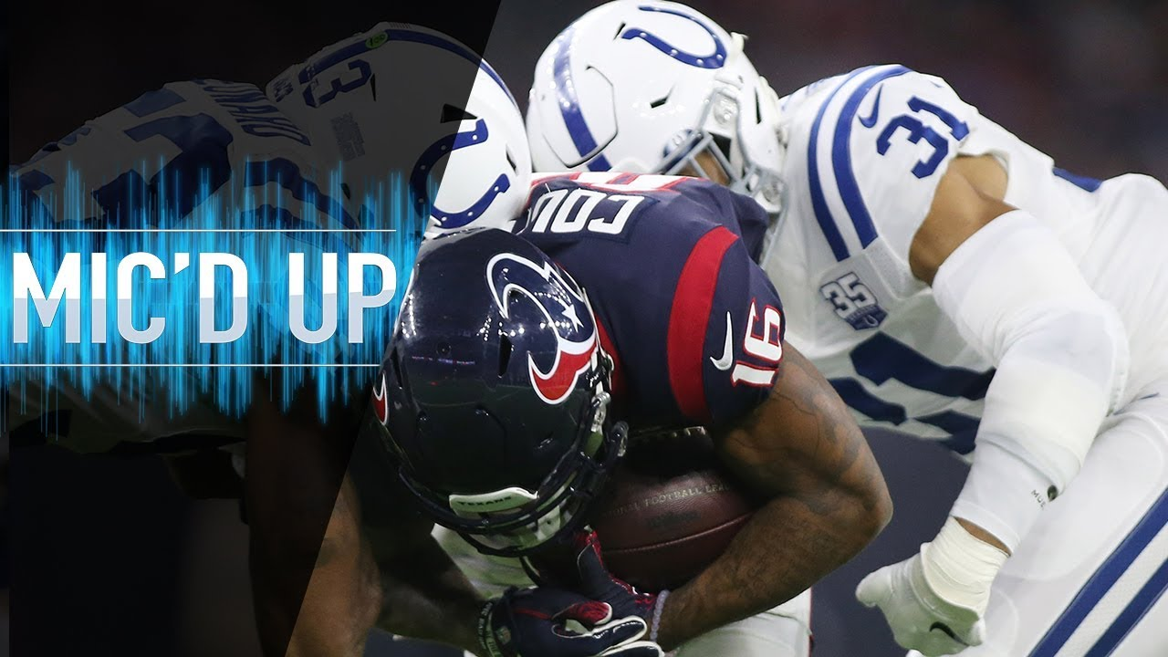 Colts vs. Texans Mic'd Up: An Unexpected Journey Continues! (AFC Wild Card)