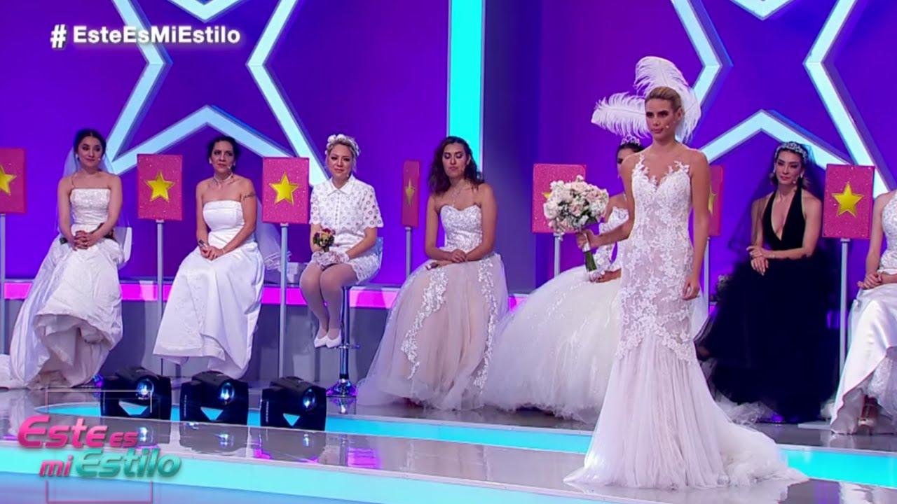 Descubre los vestidos de boda que usaron las participantes. | Gala 3 | Este Es Mi Estilo