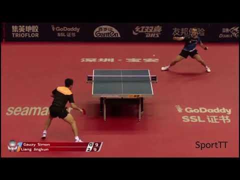 Simon Gauzy vs Jingkun Liang [ China Open 2018 ]