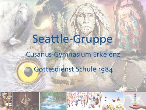 Gottesdienst Chor Musik Seattle-Gruppe Cusanus-Gymnasium Erkelenz 1984 (Schule)